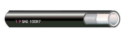 1P Thermoplastischer HD-Schlauch EN 855 SAE 100R7