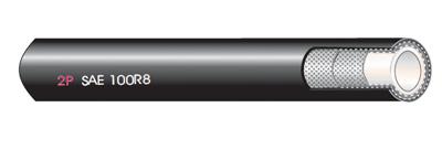 2P Thermoplastischer HD-Schlauch SAE 100R8